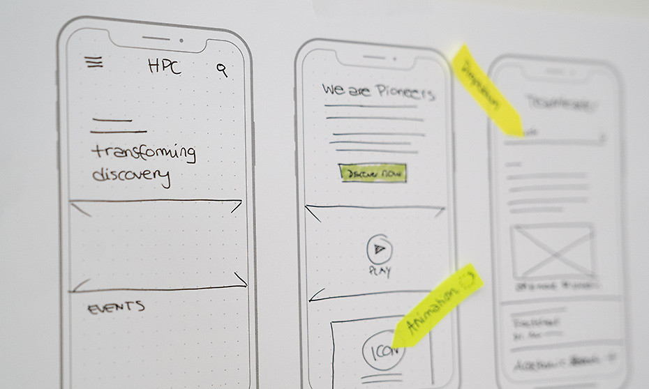 Wireframes, Prototypes
